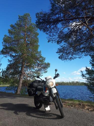 Norwegian Swedish border near Narvik